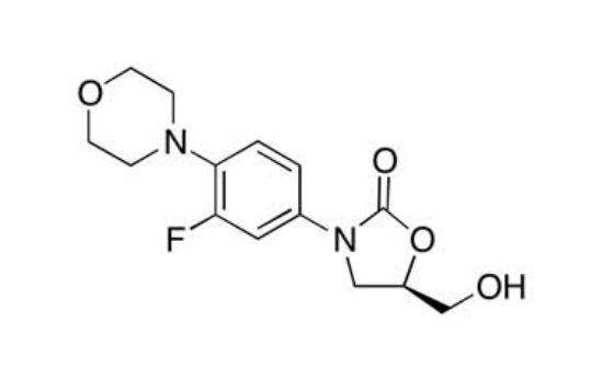 图片 (5R)-3-[3-氟-4-(4-吗啡啉基)苯基]-5-羟甲基-2-恶唑烷酮,(5R)-3-(3-Fluoro-4-(4-Morpholinyl)Phenyl)-5-Hydroxymethyl-2-Oxazolidione;99%