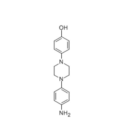 图片 1-(4-氨基苯基)-4-(4-羟基苯基)哌嗪,1-(4-Aminophenyl)-4-(4-hydroxyphenyl)piperazine;99%