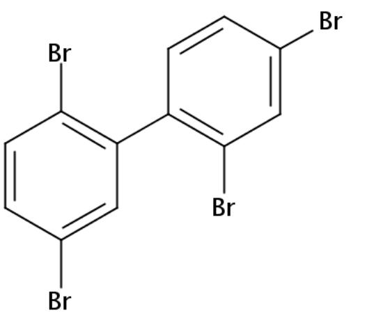 图片 2,2',4,5'-四溴联苯,PBB 49;solid