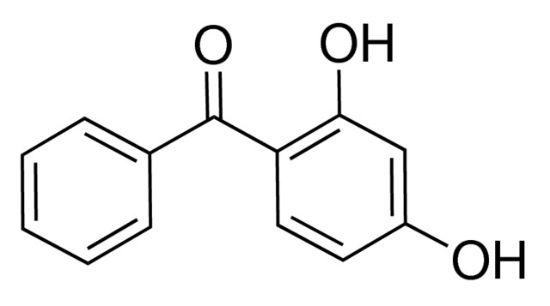 图片 2,4-二羟二苯甲酮,2,4-Dihydroxybenzophenone [DHB];99%