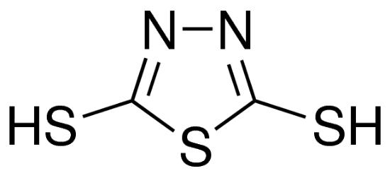图片 2,5-二硫基-1,3,4-噻二唑 [铋试剂I],1,3,4-Thiadiazole-2,5-dithiol;98%