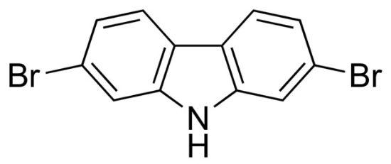 图片 2,7-二溴咔唑,2,7-Dibromocarbazole