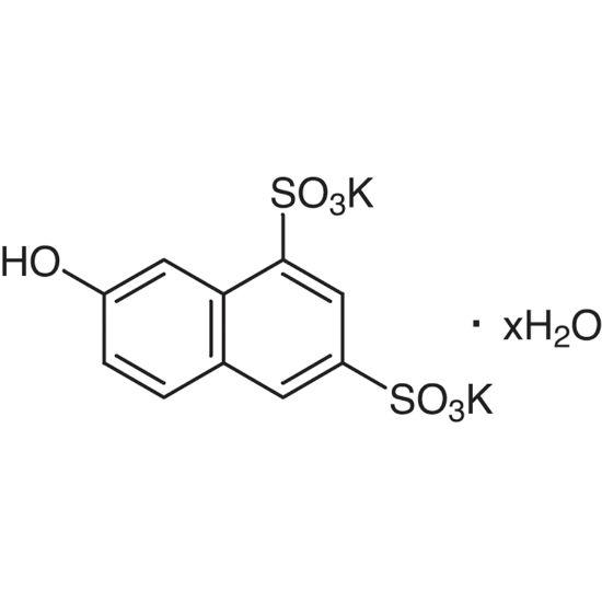 图片 2-萘酚-6,8-二磺酸二钾水合物,Dipotassium 2-Naphthol-6,8-disulfonate Hydrate;≥99.0% (HPLC)