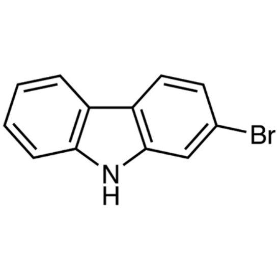 图片 2-溴咔唑,2-Bromo-9H-carbazole;≥99%