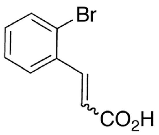 图片 2-溴肉桂酸,2-Bromocinnamic Acid