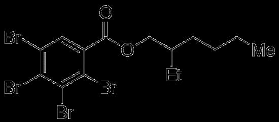 图片 2-乙基己基-四溴苯甲酸,2-Ethylhexyl 2,3,4,5-Tetrabromobenzoate [TBB]