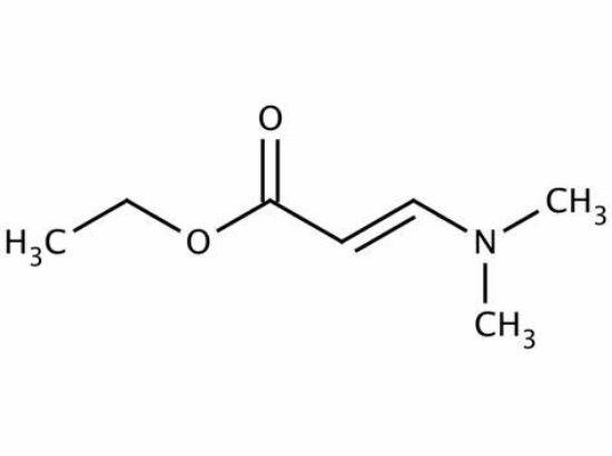 图片 3-(二甲氨基)丙烯酸乙酯,Ethyl 3-(dimethylamino)acrylate;≥99%