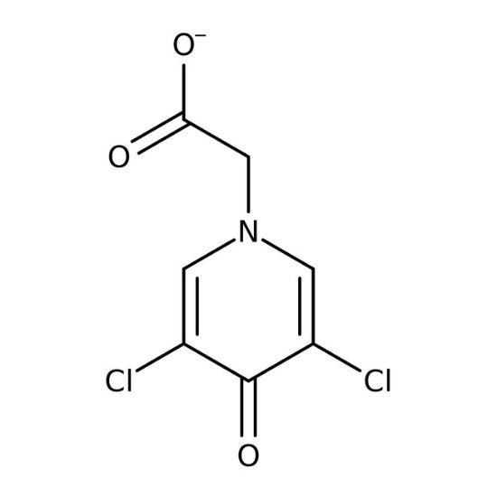 图片 3,5-二氯-4-吡啶酮-1-乙酸,3,5-Dichloro-4-pyridone-1-acetic acid;99%