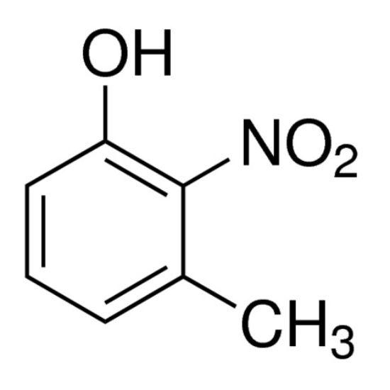 图片 3-甲基-2-硝基苯酚,3-Methyl-2-nitrophenol;99%