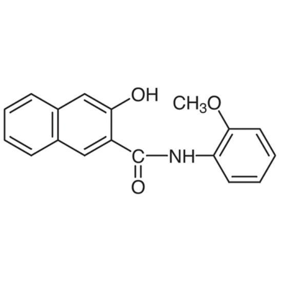 图片 3-羟基-2'-甲氧基-2-萘苯胺,3-Hydroxy-2'-methoxy-2-naphthanilide;≥99.0% (HPLC)