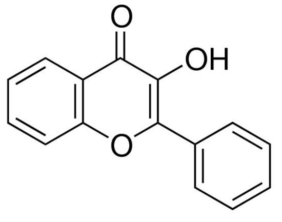 图片 3-羟基黄酮 [黄酮醇],3-Hydroxyflavone [Flavonol];≥98%