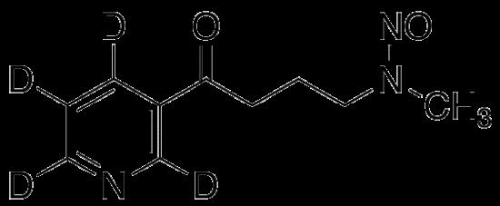 图片 4-(甲基亚硝胺)-1-(3-吡啶基-d4)-1-丁酮,4-(Methylnitrosamino)-1-(3-pyridyl-d4)-1-butanone-d4