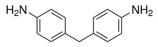 图片 4,4′-二氨基二苯甲烷,4,4′-Diaminodiphenylmethane [MDA];≥97.0% (GC)