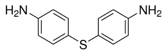 图片 4,4′-二氨基二苯硫醚,4,4′-Diaminodiphenyl sulfide;analytical standard, ≥99.0% (GC)