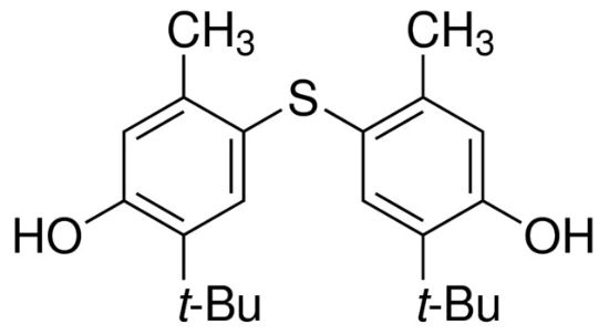 图片 4,4'-硫代双(6-叔丁基间甲酚),4,4'-Thiobis(6-tert-butyl-m-cresol);for synthesis, ≥99.0% (a/a)