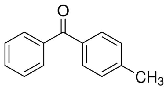 图片 4-甲基二苯甲酮,4-Methylbenzophenone;analytical standard, ≥98.5% (GC)