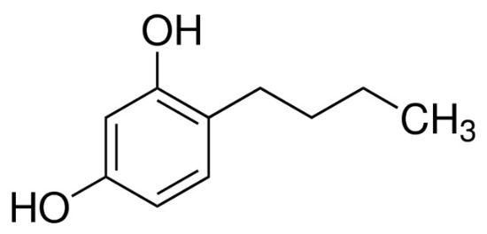图片 4-丁基间苯二酚,4-Butylresorcinol;≥97.0% (GC)