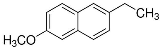 图片 2-乙基-6-甲氧基萘,2-Ethyl-6-methoxynaphthalene;≥98.0% (HPLC)