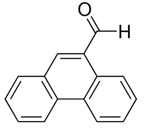 图片 9-甲醛菲,9-Phenanthrenecarboxaldehyde;97%