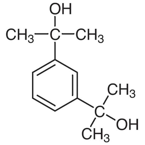 图片 α,α'-二羟基-1,3-二异丙基苯,α,α'-Dihydroxy-1,3-diisopropylbenzene;≥99% (GC)