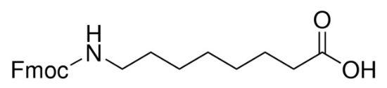图片 N-Fmoc-8-氨基辛酸,Fmoc-8-Aoc-OH;≥98.0% (HPLC)