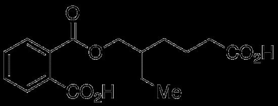 图片 (RAC-单(2-乙基-5-羧基戊基)邻苯二甲酸酯),rac Mono(5-carboxy-2-ethylpentyl) Phthalate