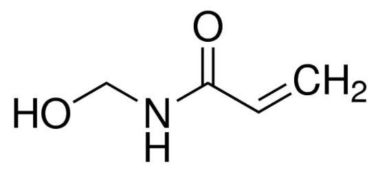 图片 N-(羟甲基)丙烯酰胺,N-(Hydroxymethyl)acrylamide;99%