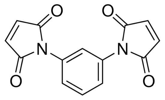 图片 N,N′-(1,3-亚苯基)二马来酰亚胺,N,N′-(1,3-Phenylene)dimaleimide;97%