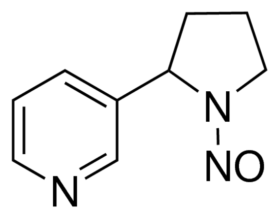 图片 N′-亚硝基降烟碱,N′-Nitrosonornicotine [NNN];analytical standard, ≥99.0% (HPLC)